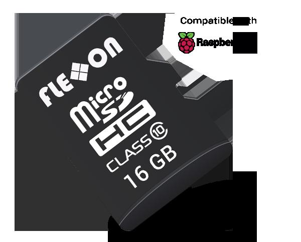 Raspberry Memory Card label Image