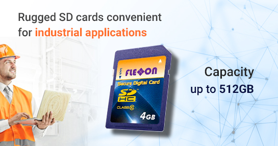 Flexxon rugged SD card